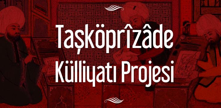 Taşköprizade Külliyatı Projesi Slider