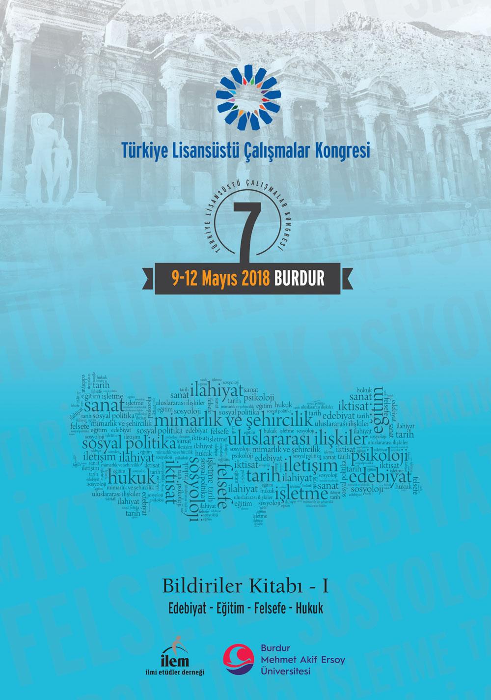 7. Türkiye Lisansüstü Çalışmalar Kongresi Bildiriler Kitabı