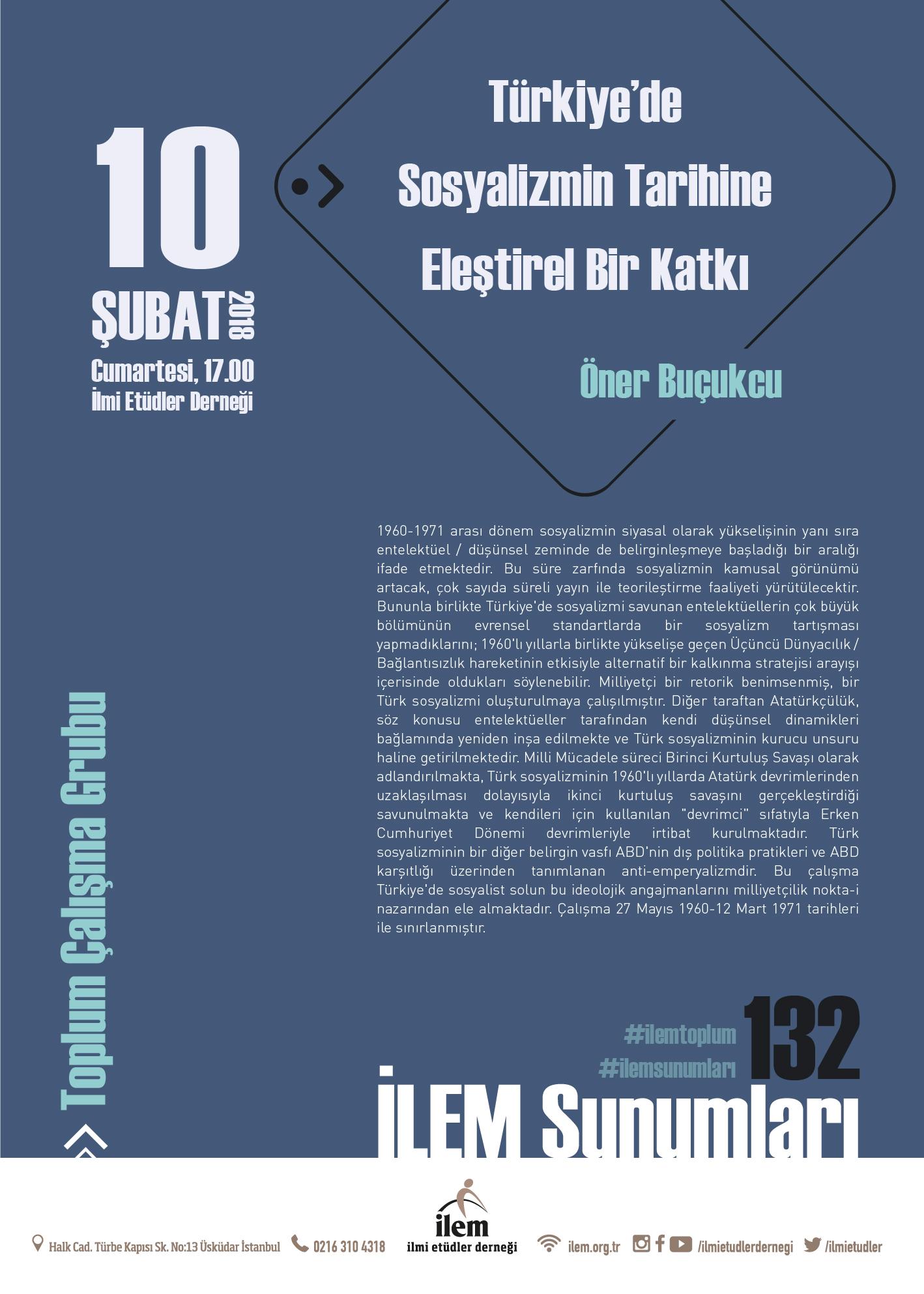 Türkiye'de Sosyalizmin Tarihine Eleştirel Bir Katkı