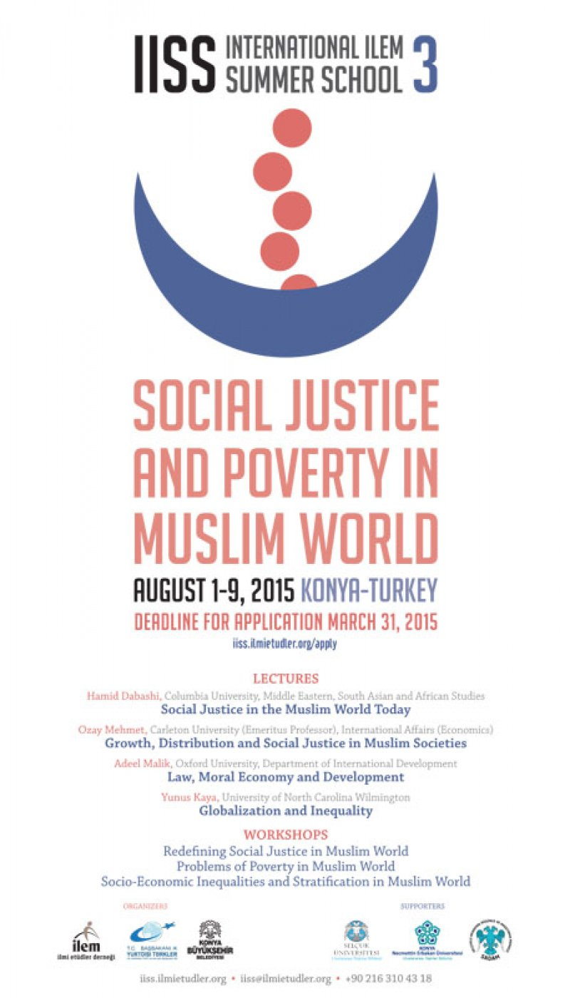 Call for Participation: Social Justice and Poverty in Muslim World