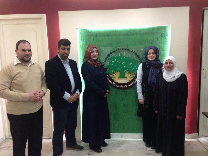 İLEM Al Zaytouna Araştırma ve Danışma Merkezi Ziyareti