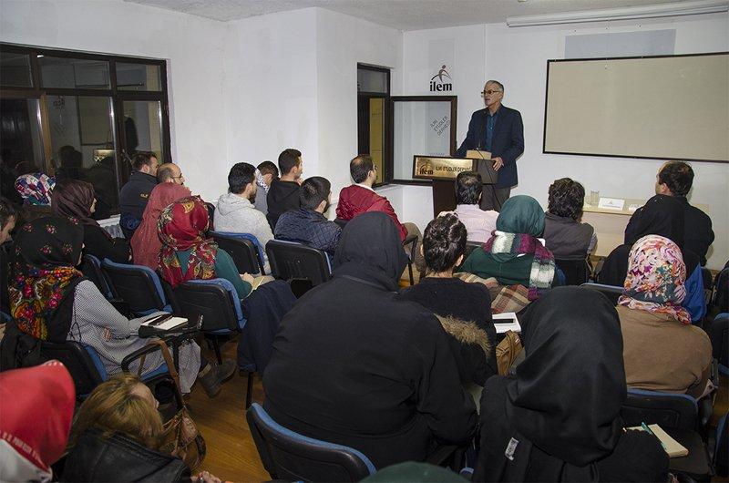 N. Finkelstein İsrail Terörünü İLEM'de Anlattı