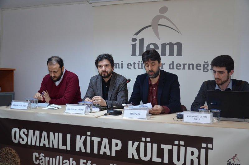Osmanlı Kitap Kültürü: Cârullah Efendi Sempozyumu Gerçekleştirildi