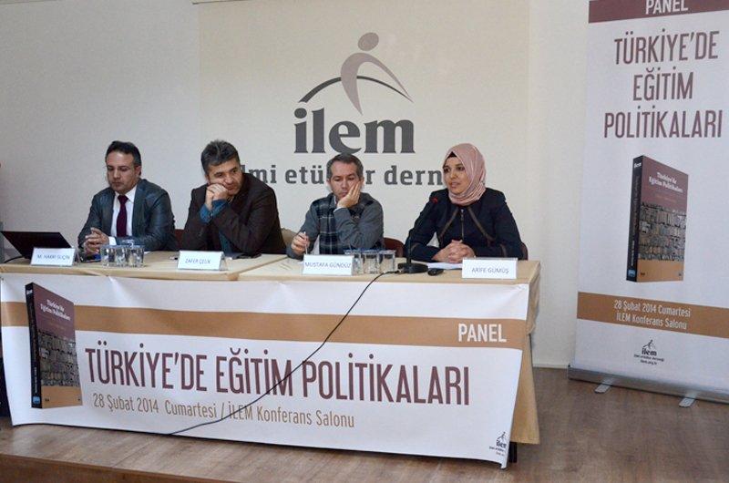 Türkiye'de Eğitim Politikaları Paneli Gerçekleştirildi