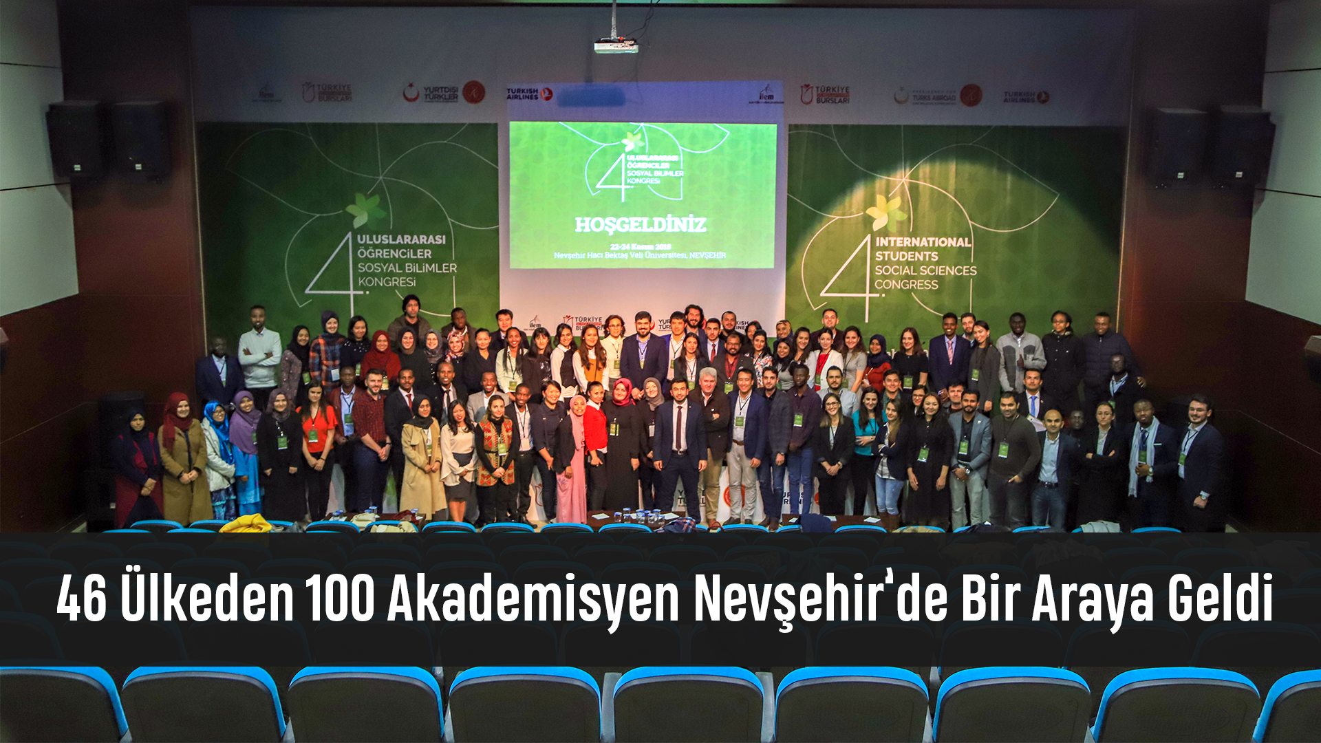 46 Ülkeden 100 Akademisyen Nevşehir'de Bir Araya Geldi